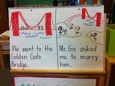 I'm a teacher and shared my summer proposal story with my new Kindergarteners.
