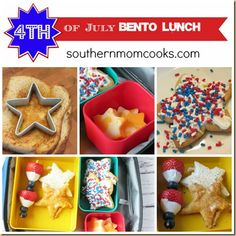 4TH OF JULY BENTO LUNCH IDEA