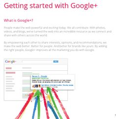 A guide to how to get your business started on G+ and 10 tips on engaging with your users.
