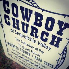 #cowboy #church