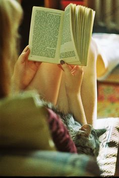 books, kitty cats, friends, cuddling, heaven, pet, sunday afternoon, book clubs, wonderful life