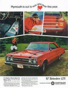 1967 Plymouth Belvedere GTX (USA) by IFHP97, via Flickr