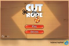 Cut The Rope in HTML5 on the web! Play for free at http://www.cuttherope.ie