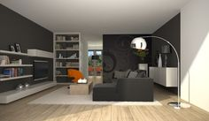 Interieur on pinterest ikea door de and met - Deco moderne woonkamer ...