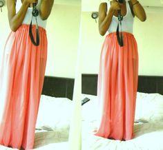 DIY: Maxi Skirt