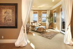 living rooms, bedroom retreat, dream, peaceful places, open plan living, reading nooks, sitting rooms, master bedrooms, curtain