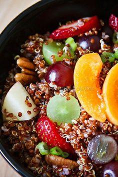 Quinoa And Summer Fruit Salad