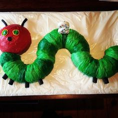 Rainbow Selkie: Very Hungry Caterpillar Cake