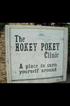 Ha, what a funny sign! Reminds of my sister Barb.
