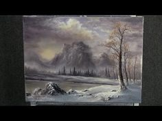 Paint with Kevin Hill - Winter Sunrise