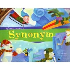 """Word Fun Books for teaching Semantics - titles like """"If you were an antonym"""", """"If you were a synonym"""", """"If you were a plural word""""."""