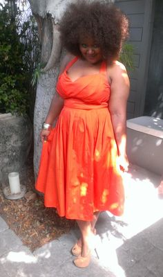 I love eShakti. I have a couple of dresses from the site that I customized too. The site is for women of any size and yes you can customize the garment for your body type/preference.  Pic is of Curvy Fashionista Marie Denee. eShakti Plus Size Dress Review. - Mahoganie J. Browne