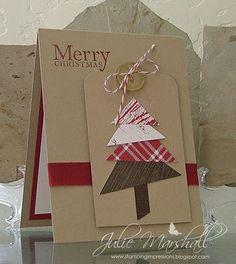 Simple & Easy Christmas Tree Card...