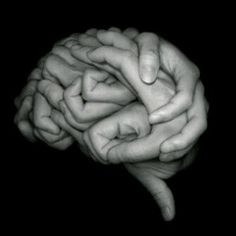 Human Brain made out of hands