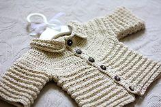 Baby Cardigan, crochet pattern