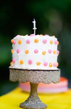 easy smash cake decoration