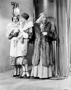 """I Love Lucy - Episode 35 - """"Ricky Asks for a Raise"""".  Ethyl, Lucy and Fred pose as fans of Ricky's at the Tropicana."""