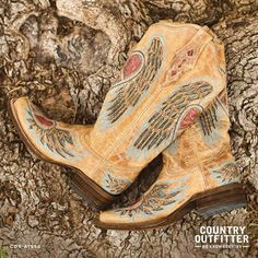 We can't get enough of these boots.    Country Outfitter