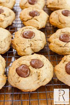 Banana-Date Sugar Cookies   vegan miam
