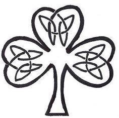 Free Celtic Knot Shamrock Gallery  Patterns 4 knot shamrock, galleri pattern, celtic tree, patterns, celtic knots, craft idea, burn idea, free celtic, shamrock galleri