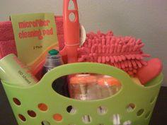 bridal shower basket idea