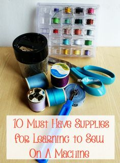 10 must have supplie