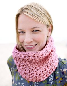 Crochet Cowl Scarf - Crochet Cuello Bufanda