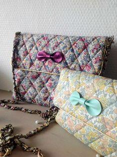 Pochettes Little Fabrics en Liberty