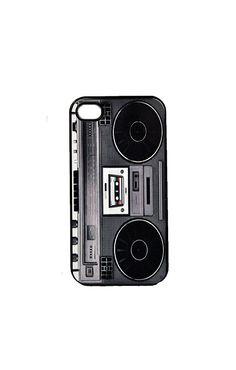 I-Phone Case Retro Boom Box