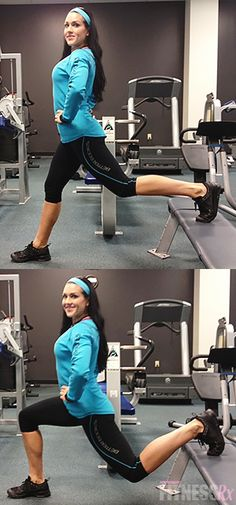 Fit Fast Bench Workout - Fat Blasting, 25-minutes, Do It Anywhere!