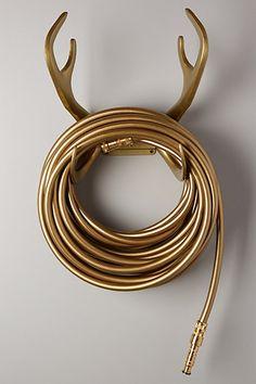 reindeer garden hose...