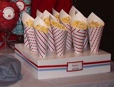 train party cones
