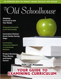 This Old Schoolhouse Magazine Free with additional resources with this link. Sign up!