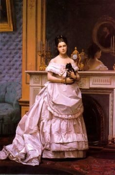 Who painted this??? I stumbled across it. Her dog looks just like my dog Bogart!  Edit: It is byJean-Léon Gérôme thanks miss-scientific!