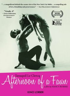 Documentary on famed prima ballerina Tanaquil Le Clercq, the muse of both George Balanchine (who married her), and Jerome Robbins who created his famous choregraphic work, Afternoon of a Faun, for her.  91 min.  http://highlandpark.bibliocommons.com/search?utf8=%E2%9C%93t=smartsearch_category=keywordq=clercq+fauncommit=Search