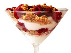 Pleasin' Yogurt Breakfast Parfait ... #recipes & tips 4 more fast & #healthy foods in Nov. Cook It Quick Newsletter.