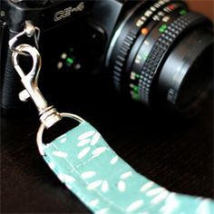 Make your own DIY wristlet for your camera.