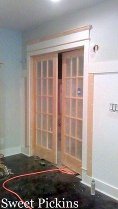 Beefed-up door casing