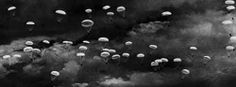 World War II History [D-Day] Paratroopers from the night sky