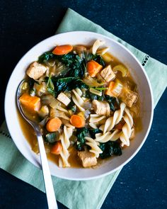 Hearty Chicken Noodle Soup!