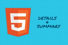 HTML5: How to Use  and  Tags