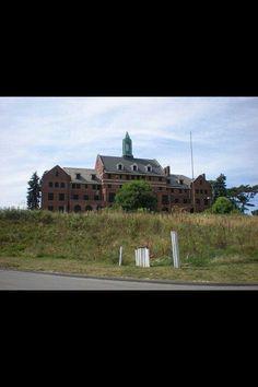 Abandoned estate