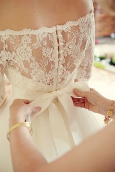 A Tara Keeley Gown For A Wedding Full Of Eclectic, Elegant and Vintage Inspired Touches Wedding Dressses, Lace Wedding Dresses, Weddings, Gowns, Dress Wedding, Buttons, Bows, Bride Dresses, Bride Groom