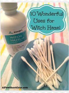 10 Wonderful Uses for Witch Hazel #health