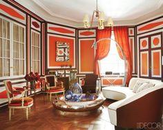 Love, love, love! Hermes orange and brown.