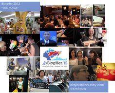 BlogHer 2012: The Movie http://dirtydiaperlaundry.com
