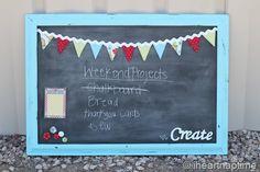 chalk board/ magnet board