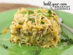 Pip & Ebby - Pip & Ebby - Build-your-own breakfast casserole