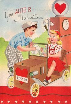 Love these vintage valentines.