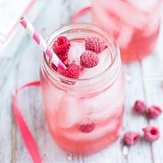 Sweet, fruity raspberry moscato sangria.